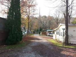 Indian Camp Creek RV Park near Cosby Tennessee Roadway