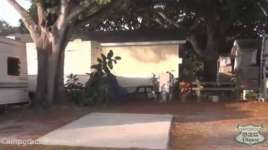 Caladesi RV Park in Palm Harbor Florida SIte