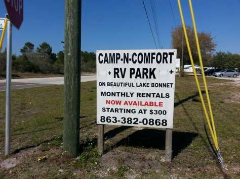Camp N Comfort RV Park in Avon Park Florida1