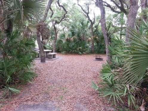 Donald Macdonald Campground Park Sebastian Florida