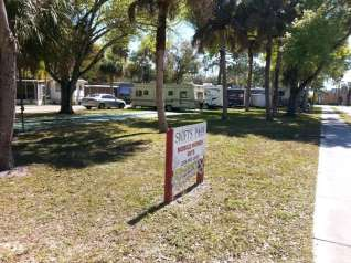 Swift's Trailer Park in North Fort Myers Florida