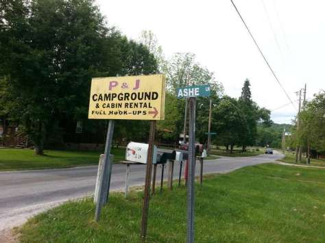 P&J Campground in Bryson City North Carolina1
