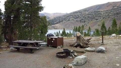Saddlebag Lake Campground