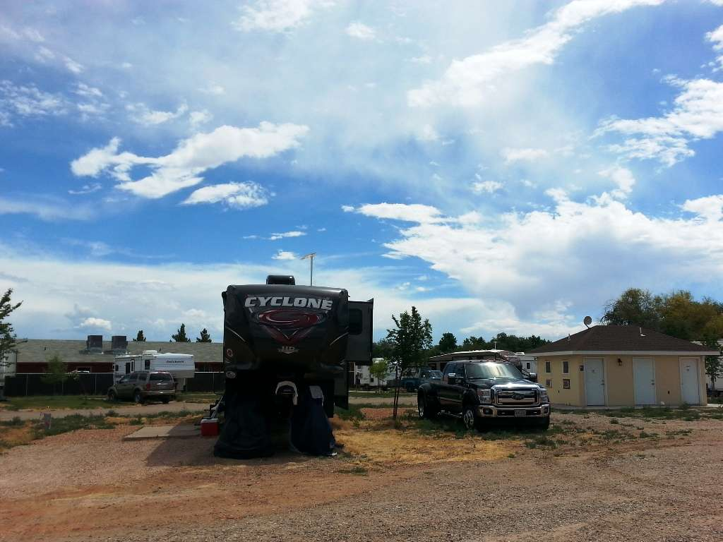 Fredonia arizona campgrounds with hookups