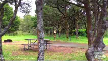 Nehalem Bay State Park Campground