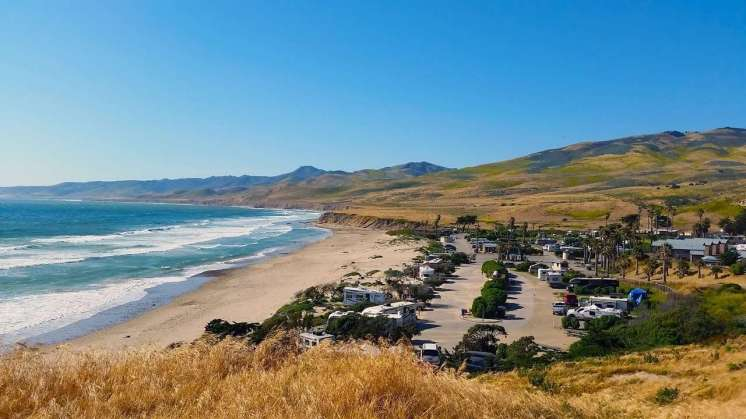 Jalama Beach County Park Campground