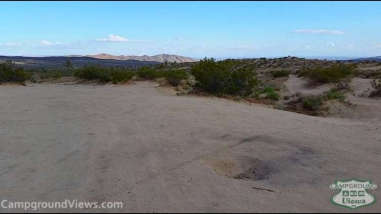 Dove Springs Off-Highway Vehicle Area Primitive Camping