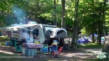 Ludington State Park Campground