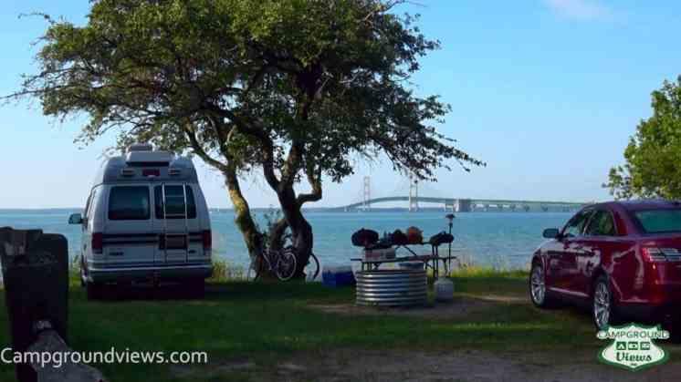 Straits State Park Campground