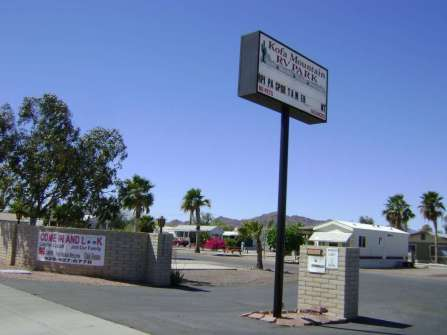 Kofa Mountain RV Park