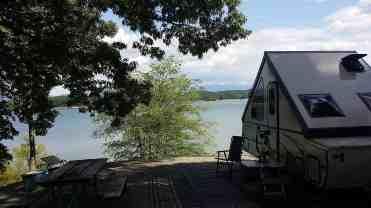 Douglas Dam Headwater Campground