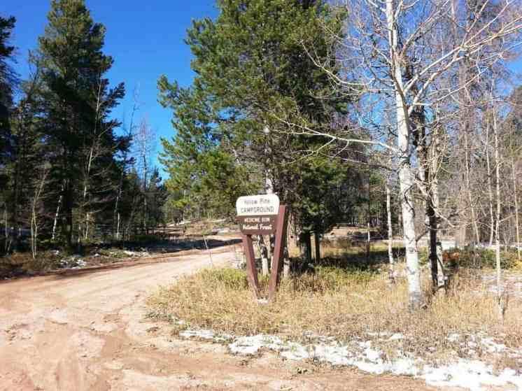 Yellow Pine Campground