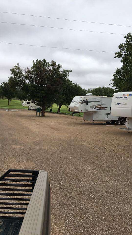 Gaines County Park Campsites