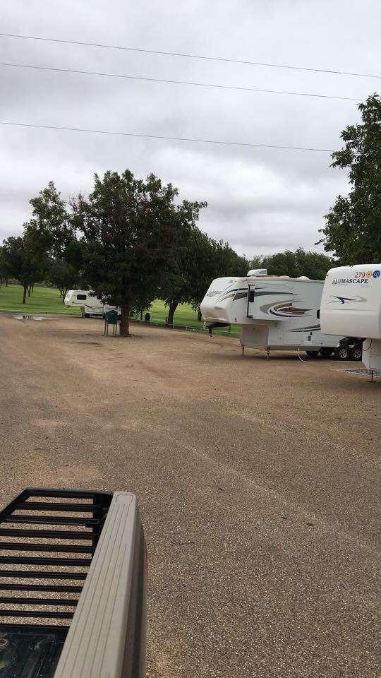 Gaines County Park Campsites