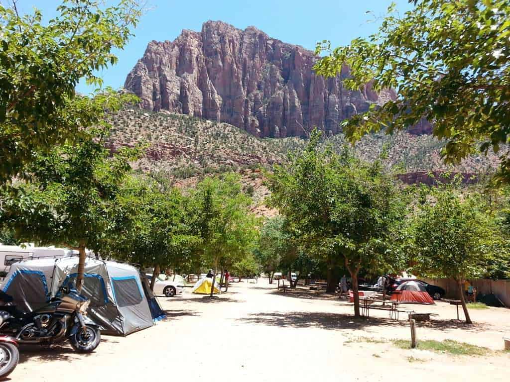 Zion Canyon C&ground and RV Park & Zion Canyon Campground and RV Park Springdale Utah | RV Park ...