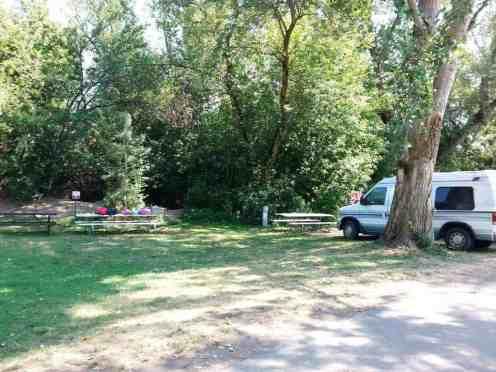 Lagoon Amusement Park Camping