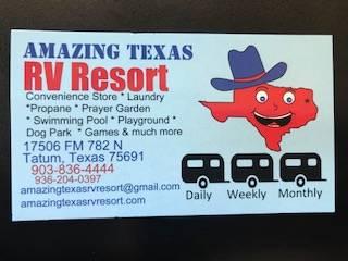 Amazing Texas RV Resort