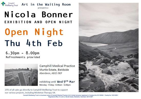 Nicola Bonner open night