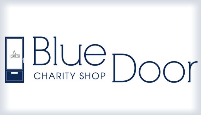 blue door logo charity shop aberdeen