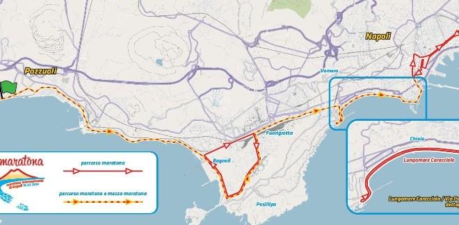 Maratona di Napoli, partirà da Lucrino domenica 16 febbraio