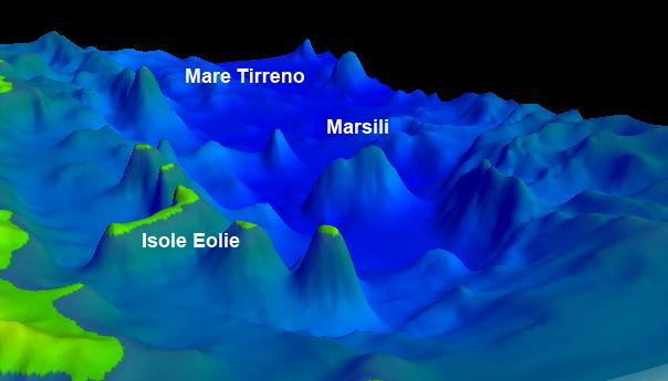 I Campi Flegrei collegati al vulcano Marsili