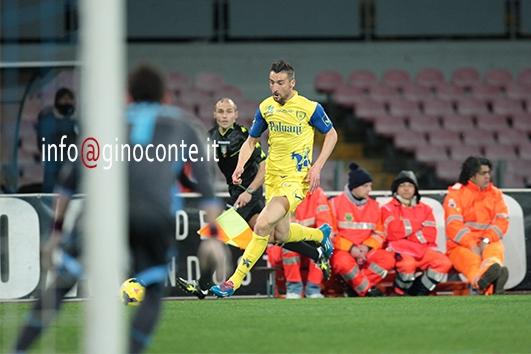 Napoli-Chievo 1-1, all'eurogoal del puteolano Sardo risponde Albiol