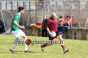 Biagio Caccavale in azione