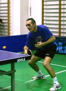 Maurizio Valentino, giocatore del TTPozzuoli