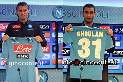 """Il neo acquisti Ghoulam e Henrique: """"Siamo qui per vincere"""", domani il Napoli fa visita all'Atalanta"""