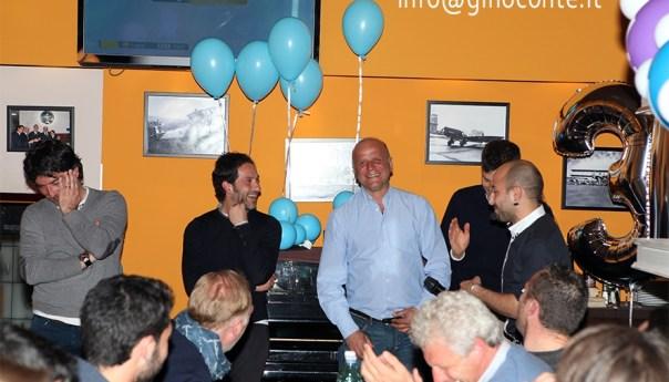 L'ex azzurro Gianluca Grava festeggia il 37° compleanno al Caffè Serapide a Pozzuoli!