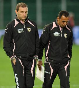 L'ex giocatore granata assieme a Mangia a Palermo