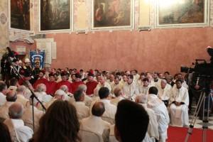 I parroci di tutte le parrocchie della Diocesi di Pozzuoli