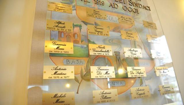 Bacoli, dal 1919 tutti i sindaci in un Albo del maestro Carannante