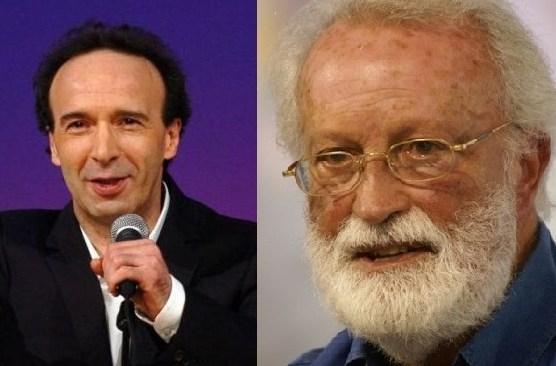Napoli, Scalfari e Benigni confrontano le idee
