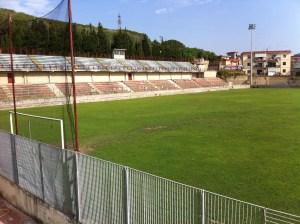 """Lo stadio """"Domenico Conte"""" di Arco Felice"""
