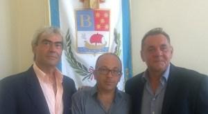 Antonio Di Meo, Michele Petrone ed Ermanno Schiano