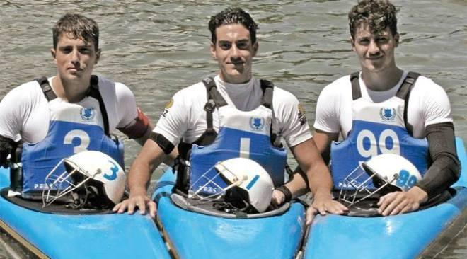 Mondiali Canoa Polo in Francia: tre bacolesi con la nazionale italiana alla conquista del Mondo!