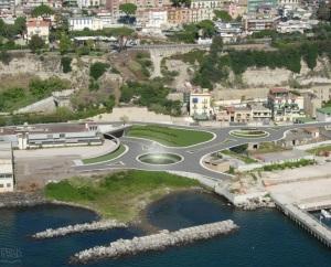 Collegamento Tangenziale-Porto - vista di via Fasano