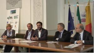 Napoli, conferenza stampa Borriello