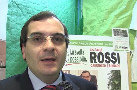 Il consigliere Luigi Rossi