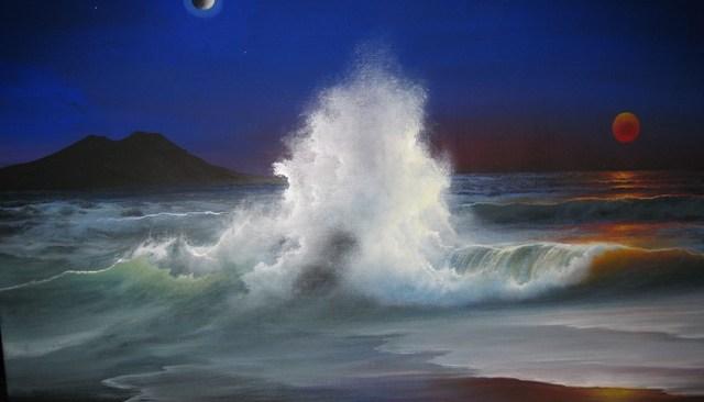 """""""Ncopp' 'o mare"""", la mostra di Aldo Zanetti"""