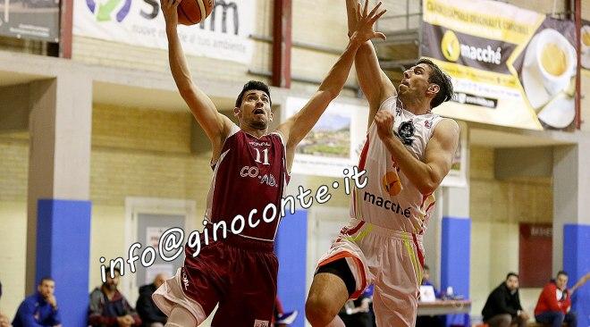 Basket, primato per la Virtus che vince a Sarno. La capolista San Nicola sconfitta ad Angri