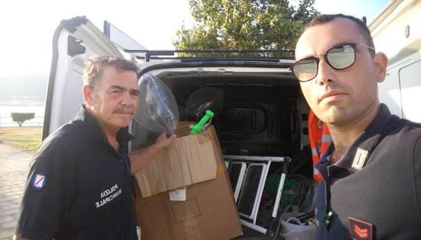 Bacoli, lotta all'abusivismo commerciale: in villa comunale i primi sequestri