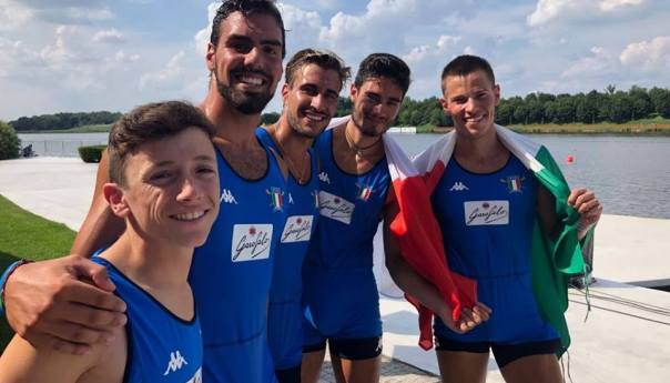 Canottaggio, il bacolese Di Colandrea bronzo ai Mondiali Under 23