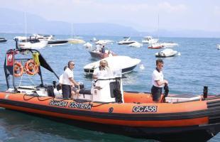 Lucrino, barca investe un sub che riporta lievi ferite alla schiena