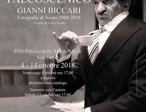 """Il puteolano d'adozione Gianni Biccari presenta al Pan la mostra fotografica """"Emozioni e palcoscenico"""""""