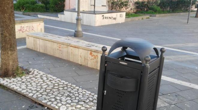 """Quarto, nuovi cestini dei rifiuti. Sabino: """"Vigileremo eventuali atti vandalici"""""""