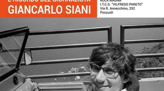 POZZUOLI/ Venerdì 18 al Pareto la Giornata della Legalità e il ricordo di Siani