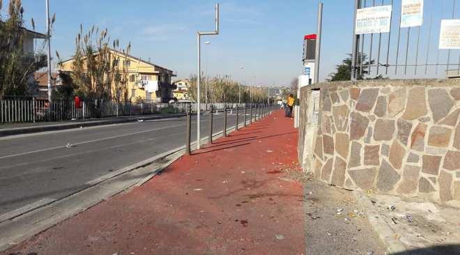 """LA SEGNALAZIONE/ """"Quarto, via Consolare Campana nel degrado"""""""