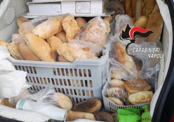 MONTERUSCIELLO/ Abusivo vende pane per strada, denunciato e multa da 5mila euro